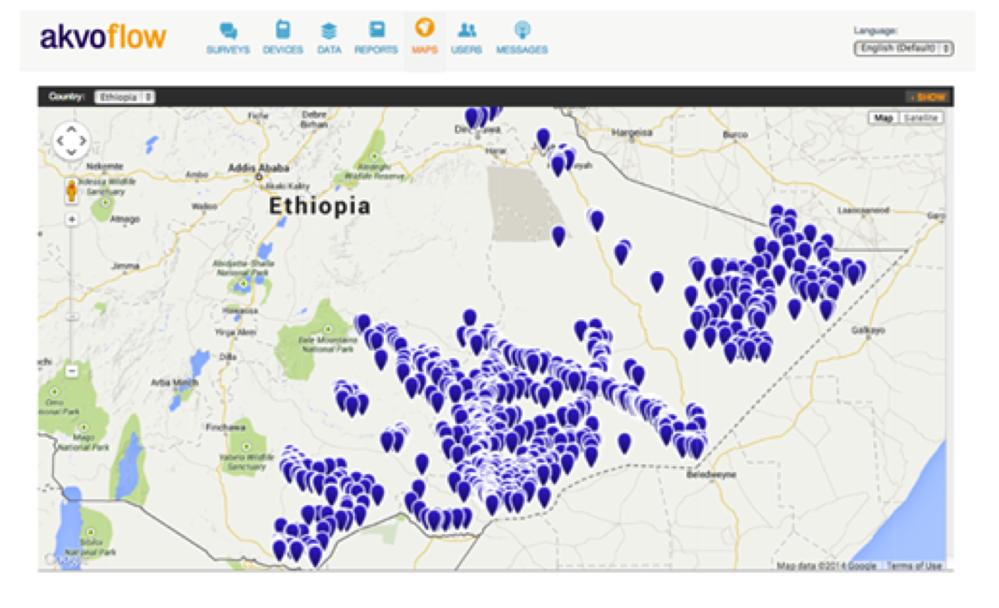 mobile technology aids ethiopian national wash inventory