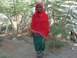 """Asma Musa is an eighth grade student in Semera Girls Boarding School Afar, Ethiopia. She is 16 years old. To fulfil the right of the child to education will protect us from any form of child labour. The right of everyone to education, one can develop his/her potential if and only if education is available and accessible. In other words, children can contribute for our family and country a lot if education is available and accessible for them. There is ignorance in our society mainly on the importance of girls' education. And I would like to advise adults, children have set of rights that everyone needs to respect through continuous awareness raising stages. For example, """"Child marriage should stop now."""" I like to see all pastoralist children mainly girls have access to, and complete primary education of good quality."""