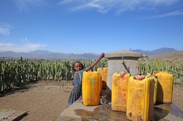 The Ebo clean water project benefits 27, 000 people in seven villages including 15,000 school children with clean water in their school and households. Young girls now can attend school regularly without spending more time looking for water.
