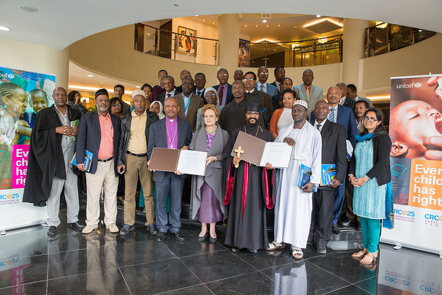 UNICEF and religious institutions sign a Memorandum of Understanding to improve the lives of women and children in Ethiopia