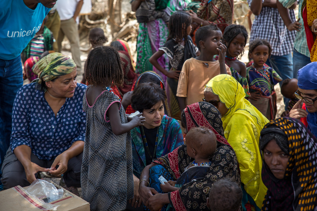 UNICEF and WFP Regional Directors visit El Niño driven drought response in Ethiopia