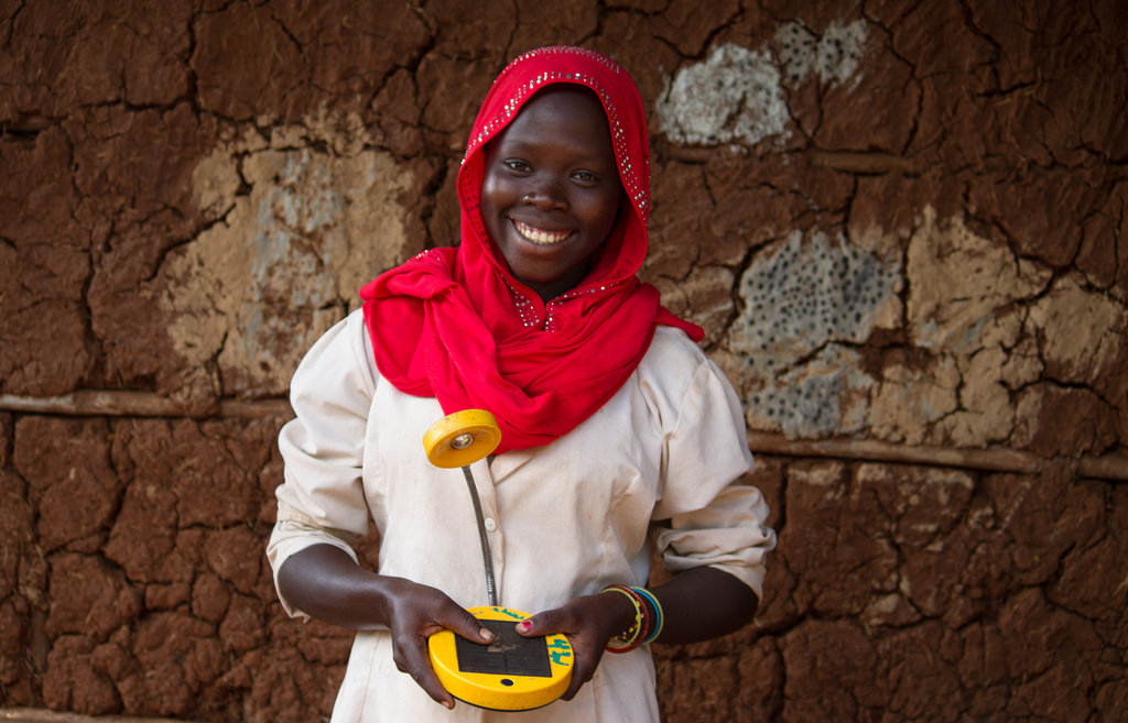 Light after dark – Solar lamps improve children education in rural Ethiopia