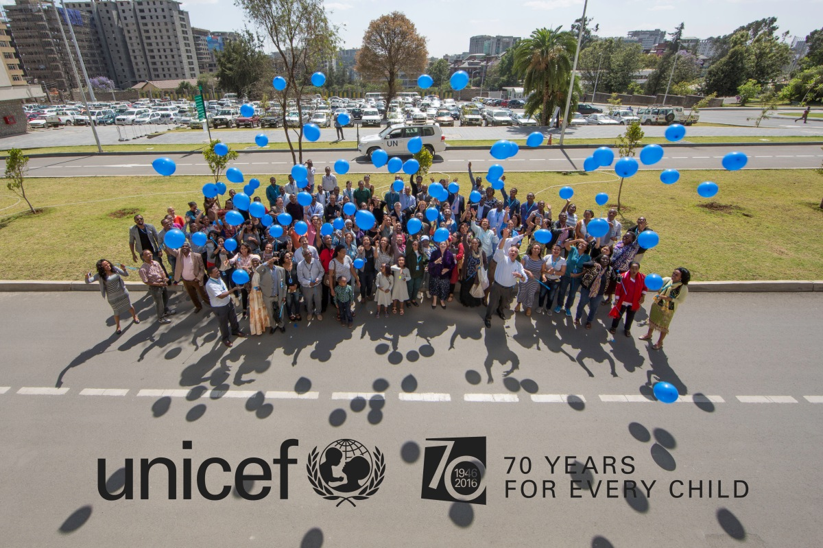 Ethiopia celebrates UNICEF's 70th Anniversary