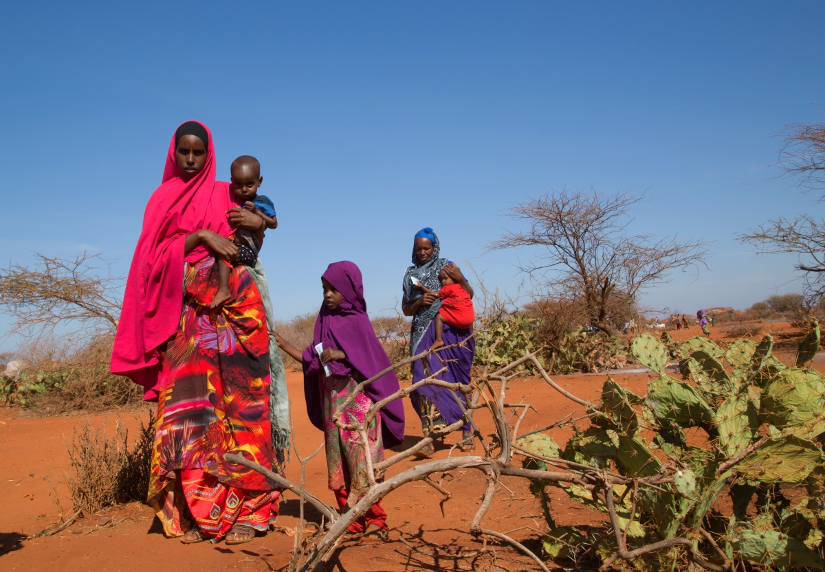 Mobile Health and Nutrition Teams Providing Crucial Services for Pastoralist Mothers As They Cope with Drought