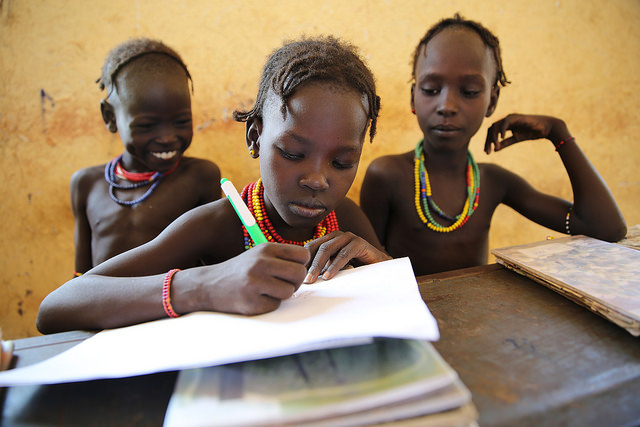 Funding shortfalls threaten education for children living in conflict and disaster zones