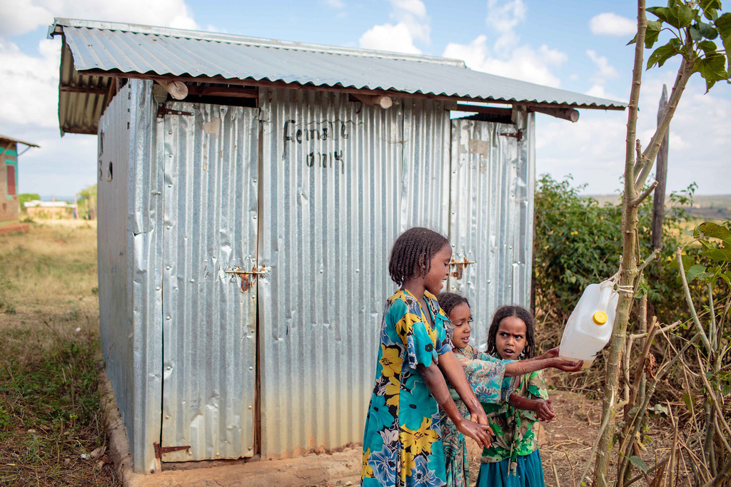 'BABY WASH' boosted at this year's World Toilet Day inEthiopia