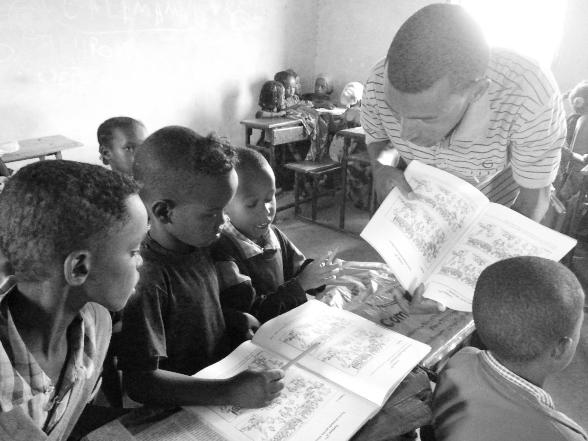 In Ethiopia, passionate teachers prepare children for school