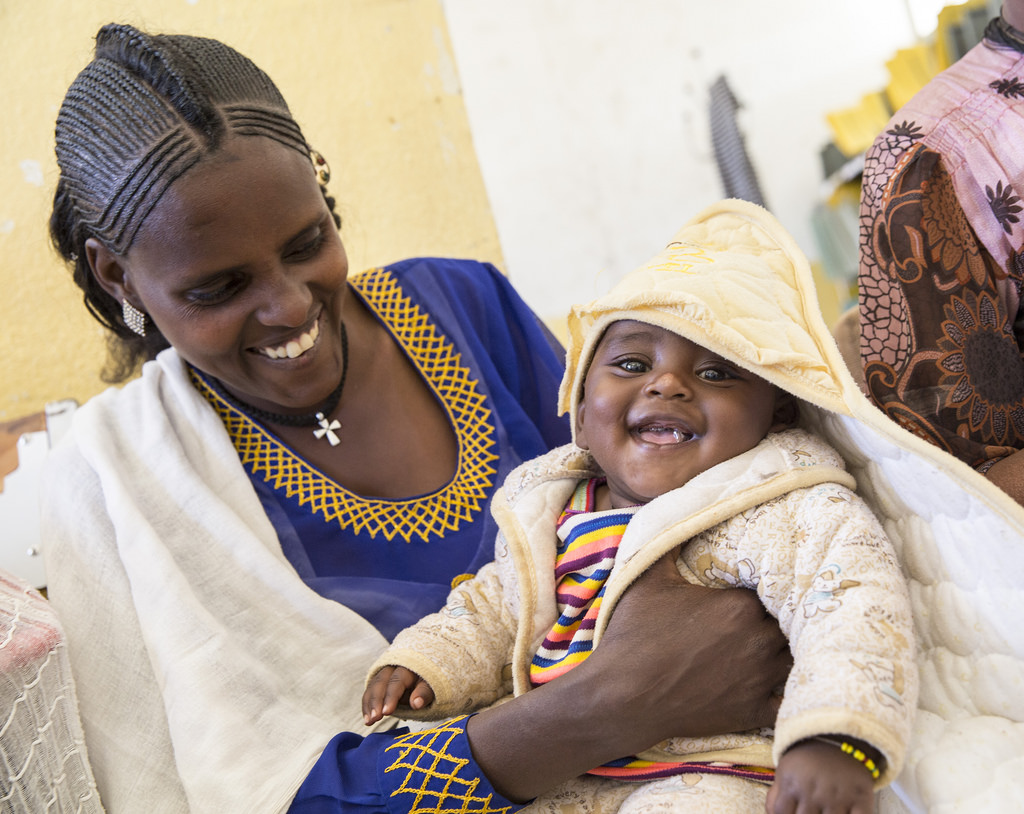 Healthy mothers, healthy children, making healthy communities in Ethiopia