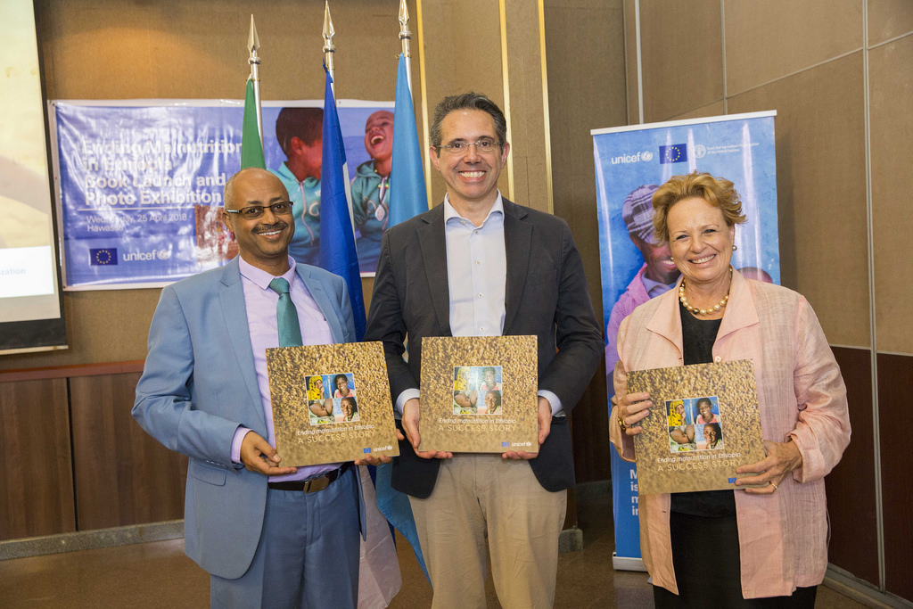 EU and UNICEF launch a photo book on the success story of reducing malnutrition in Ethiopia