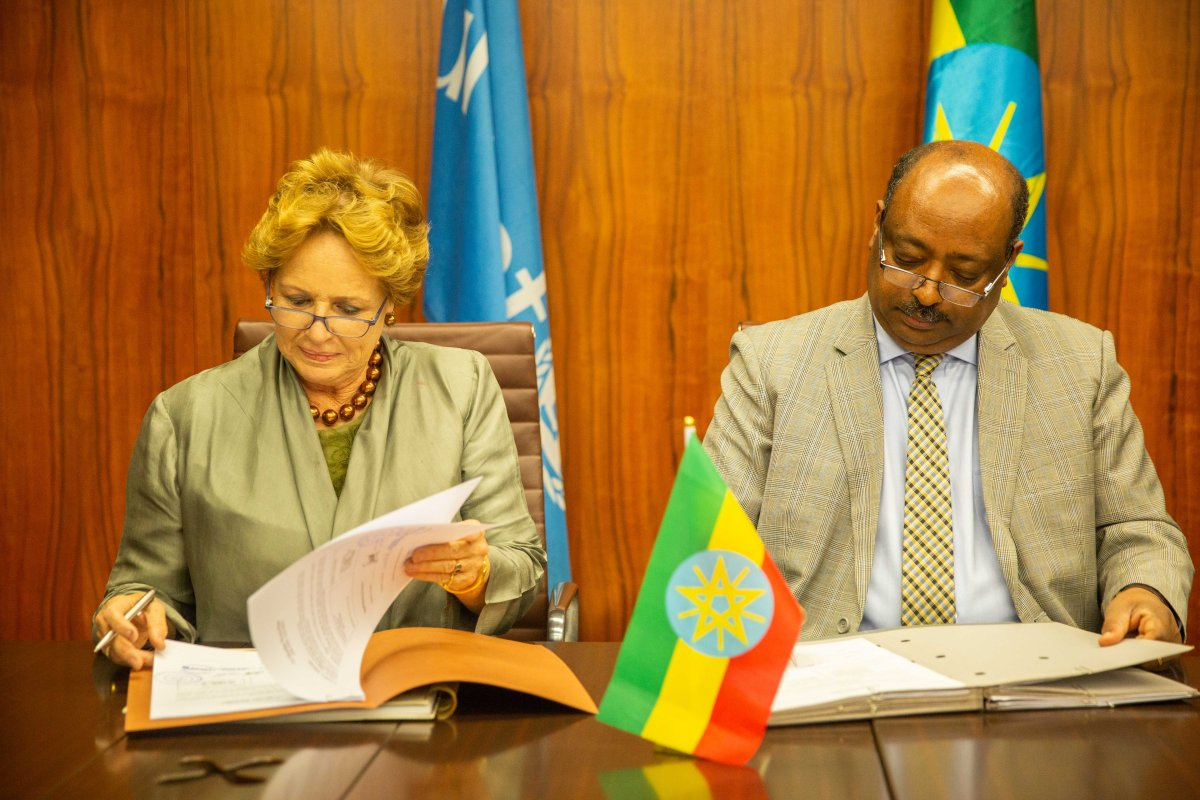UNICEF signs annual workplans with the Government of Ethiopia worth US$ 56 million