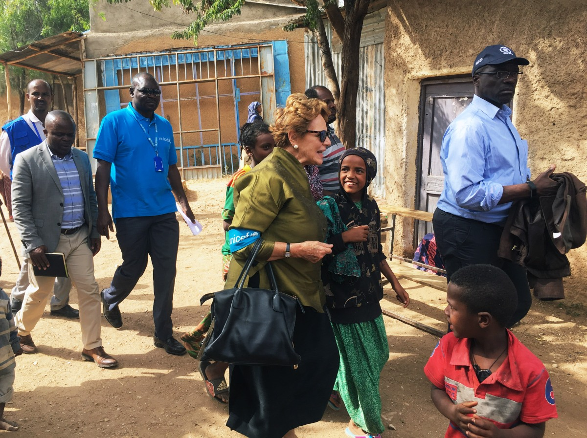 Heads of WFP and UNICEF visit Somali Region of Ethiopia after days of civil unrest