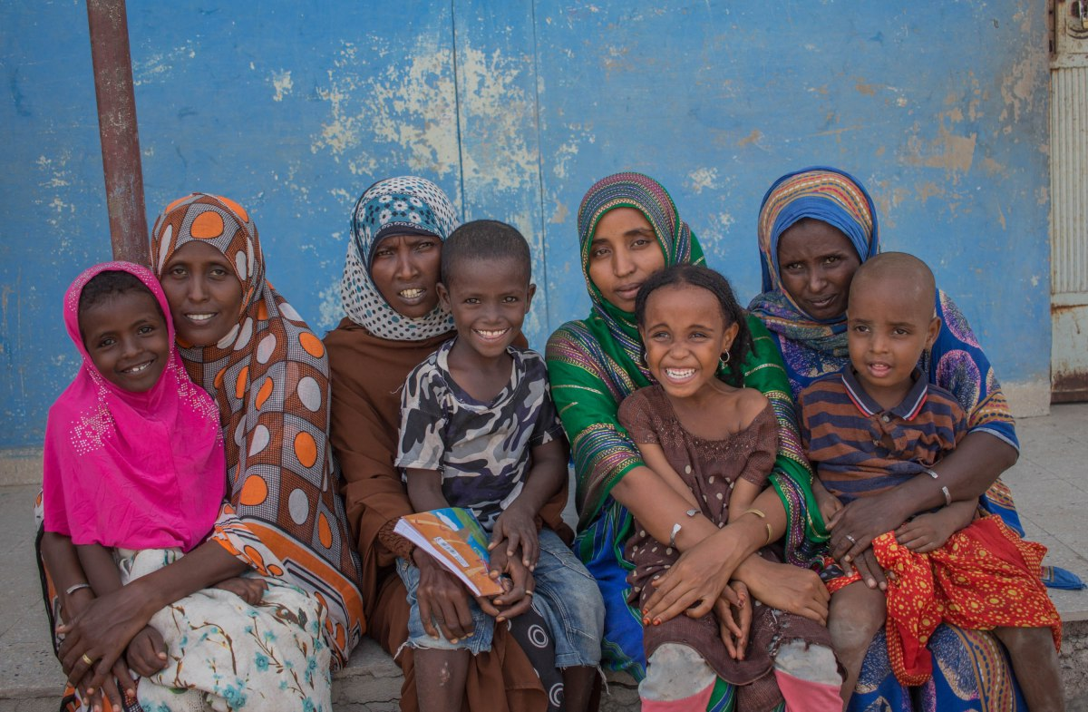 Eritrean refugee women and their Ethiopian hosts in the Afar region of Ethiopia ensure children attend school